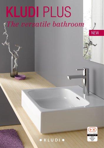 KLUDI PLUS The versatile bathroom