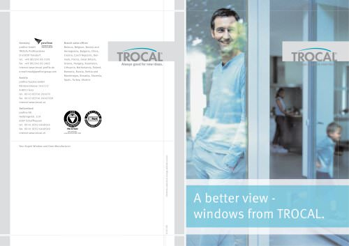 A better view - windows from TROCAL.