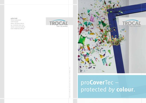 proCoverTec – protected by colour.
