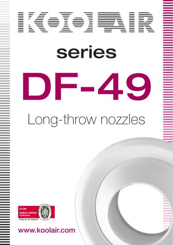 Long-throw nozzles – DF 49