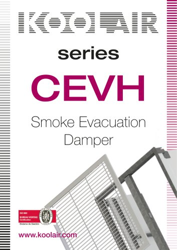 Series CEVH Smoke Evacuation Damper