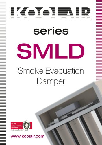 Series SMLD Smoke Evacuation Damper
