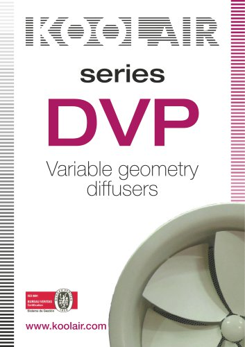 Variable geometry diffusers – DVP