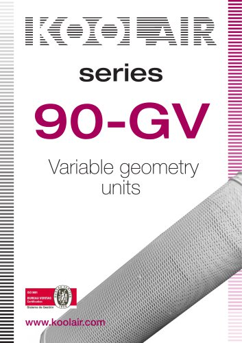 Variable geometry units – Series S-90-GV