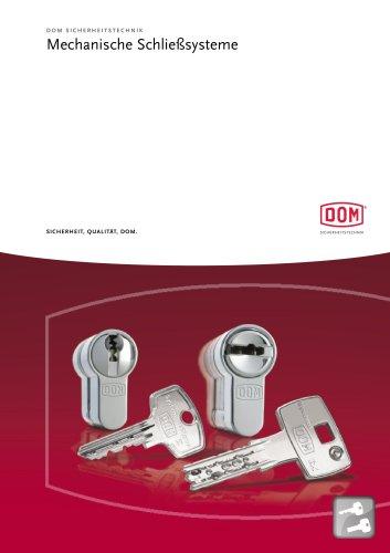 Mechanische Schließsysteme