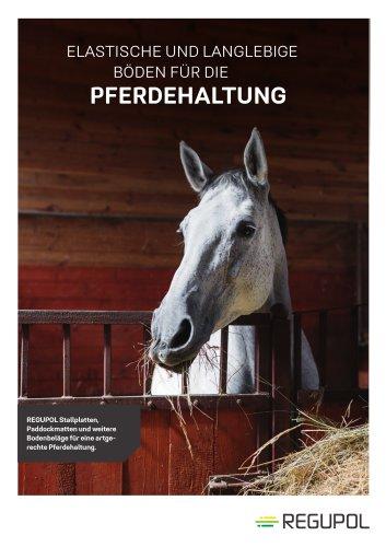 Regupol® Pferdeböden