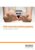 Fully automatic parking systems