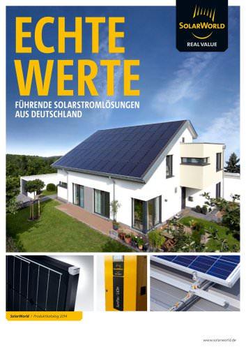 Echte Werte Führende Solarstromlösungen aus Deutschland