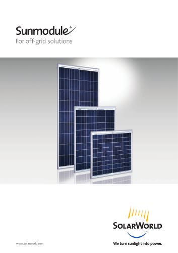 Sunmudule For off-grid solutions