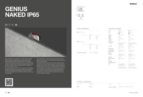 GENIUS NAKED IP65