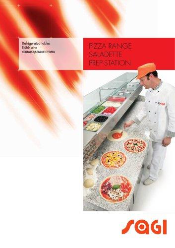 PIZZA RANGE SALADETTE PREP-STATION