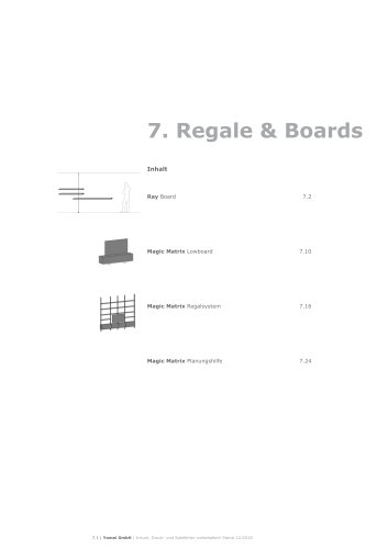Regale & Boards