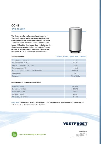 CC 45 Can cooler