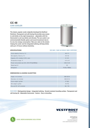 CC 48 Can cooler