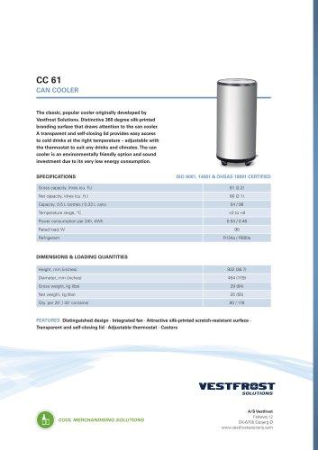 CC 61 can cooler