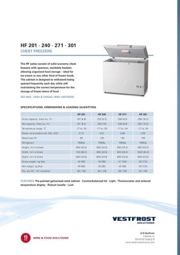 HF 201 · 240 · 271 · 301