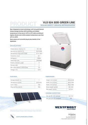 VLS 024 SDD GREEN LINE