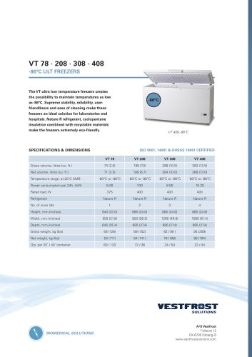 VT 208- 308 - 408