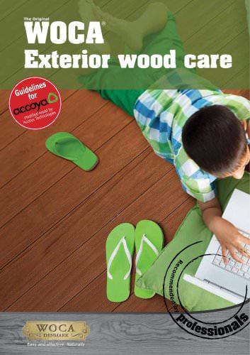 Coating-Accoya WOCA stain Brochure