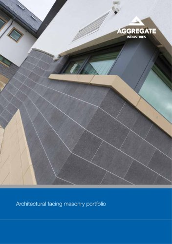 Architectural facing masonry portfolio