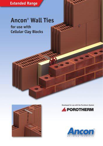 CCB Cellular Clay Block Wall Ties
