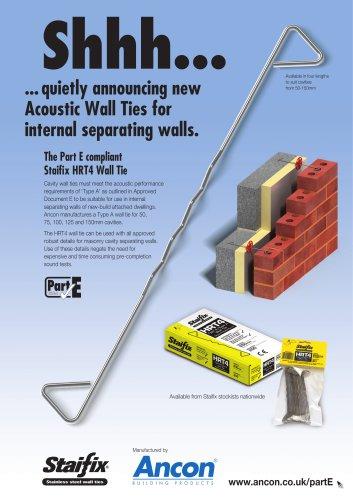 Staifix HRT4 Wall Tie