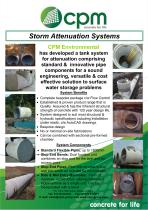 Storm Attenuation Systems
