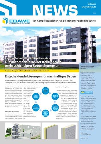 Das neue Thema der Betonfertigteilindustrie: Die automatisierte Herstellung von mehrschichtigen Betonelementen