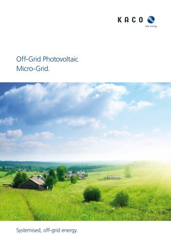 Electrifing off-gird Regions