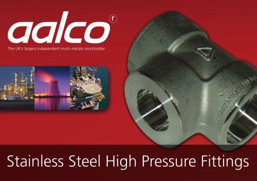 Stainless Steel High Pressure Fittings