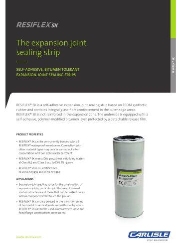 RESITRIX® RESIFLEX SK Sealing Strip