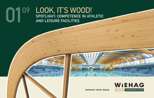 WIEHAG Look it´s Wood 2009 ? Athletic and Leisure Facilities
