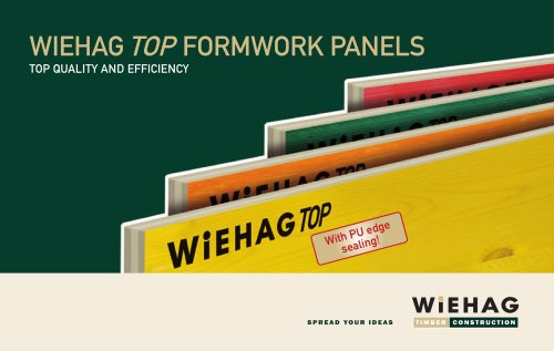 WIEHAG Top Formwork Panels