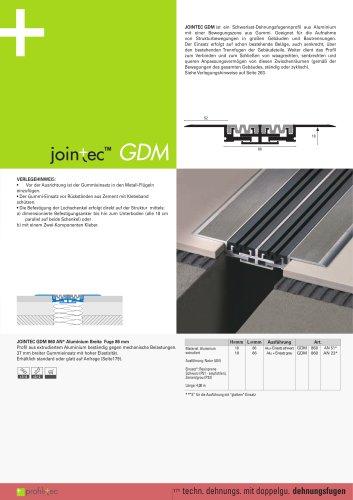 Jointec GDM