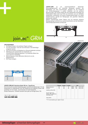 Jointec GRM