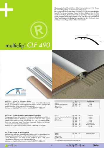 Multiclip CLF 490
