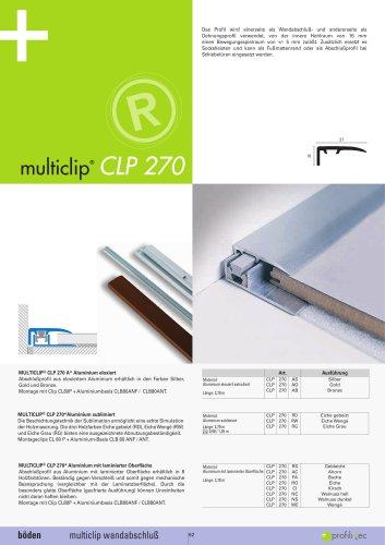 Multiclip CLP 270