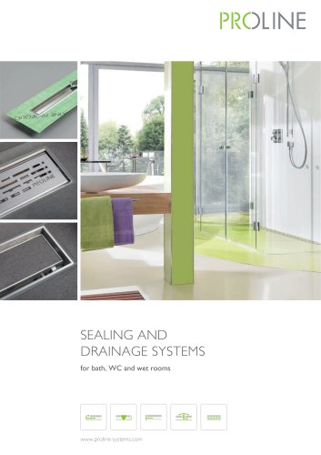 SEALING AND DRAINAGE SYSTEMS