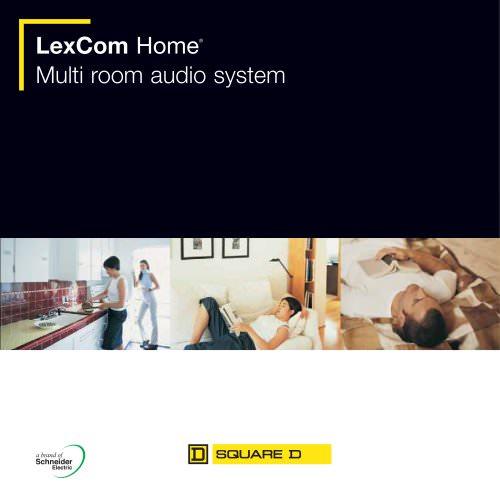 LexCom Audio - Multi room audio system