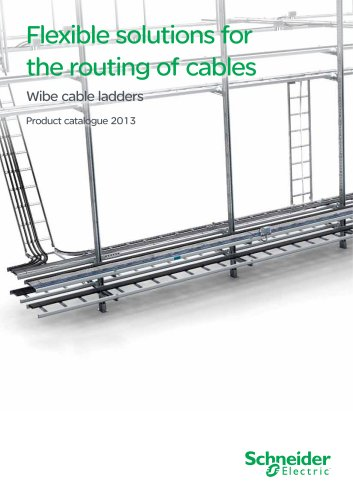 Wibe cable ladders-product catalogue  2013