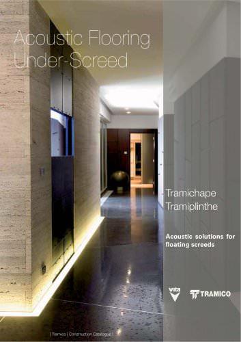 Underfloor acoustic insulation
