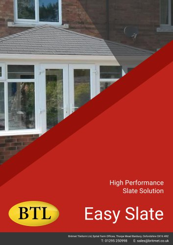 High Performance Slate Solution