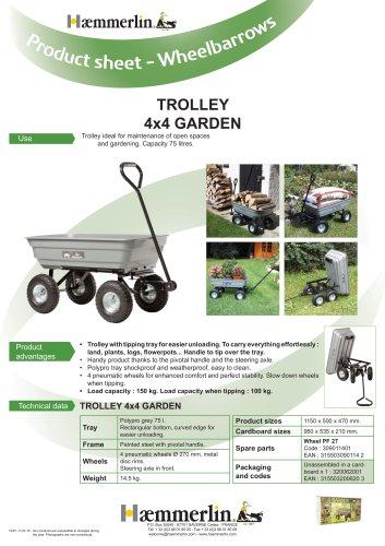 TROLLEY 4x4 GARDEN