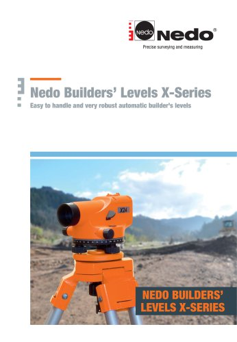Nedo Builders' Levels X-Series