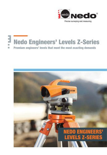 Nedo Engineers' Levels Z-Series