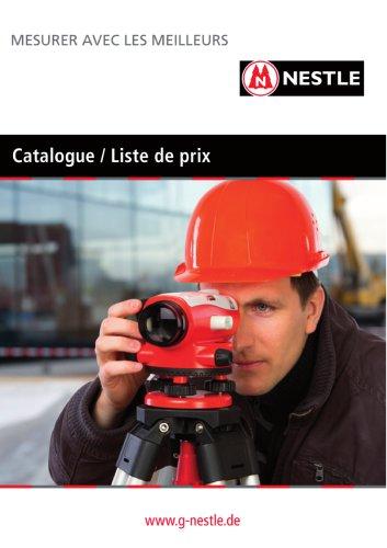 Catalogue produit à jour