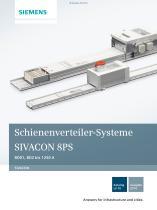 Katalog LV 70 - 2014 - SIVACON 8PS Schienenverteiler-Systeme