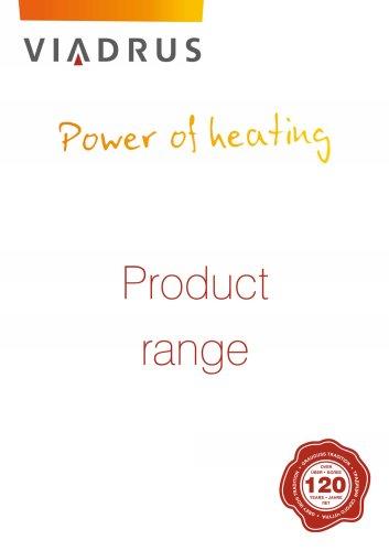 Viadrus product range