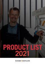 PRODUCT LIST 2021
