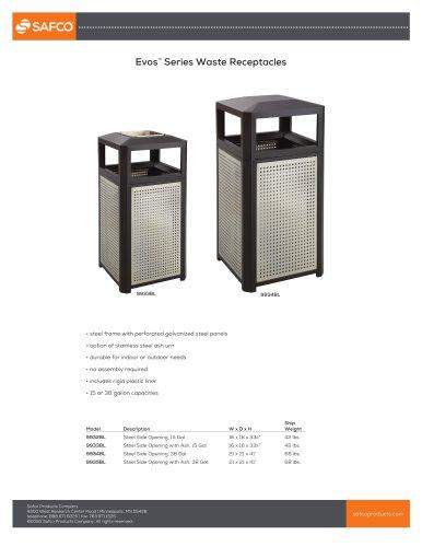 Evos™ Series Waste Receptacles